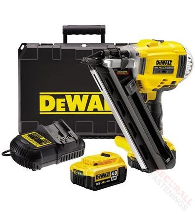 The Dewalt Electric Cordless Nail Gun Dc690m2 Securall