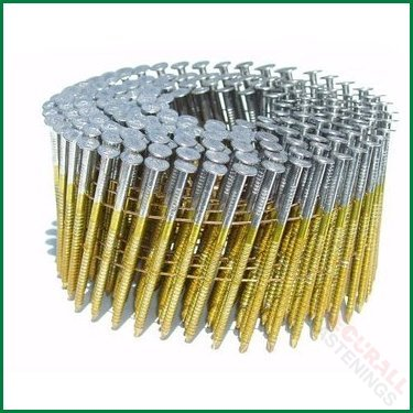 Fits BEA BOSTITCH COIL NAILS 2.1 x 32mm GALV RING BLUNT FLAT TYPE COIL NAILS