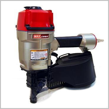 Max CN80 coil nail gun
