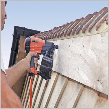 Tacwise Hcn65p 65mm Coil Nailer For Timber Frame Sheds