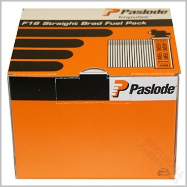 Paslode 16 Gauge Nails F16 Brad Fuel Pack