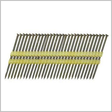 21 22 Degree Plastic Strip Framing Nails Galvanised