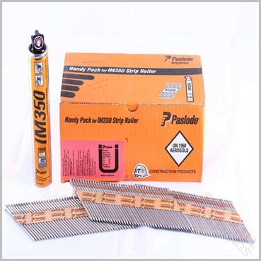 Paslode IM350 stainless steel framing nails