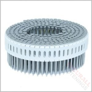 plastic collated coil nails