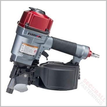 Everwin PN57PP Extra Power 50mm Flat Coil Nailer