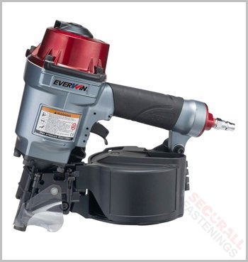 Everwin Pn57 50mm Flat Coil Nailer For Pallets Sheds