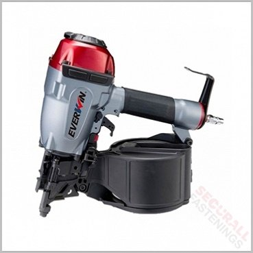 Everwin Scn 65mm Construction Coil Nail Gun Nailer For