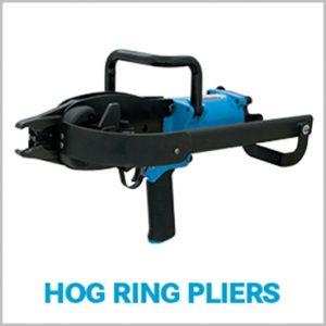 hog ring tool for gabions