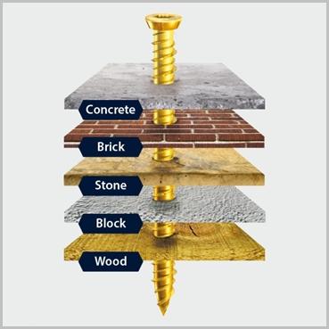 130mm Concrete Screws