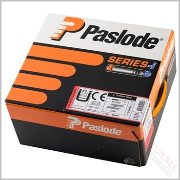 Paslode IM360Ci 90mm Ringed Galvanised Nails Fuel Pack