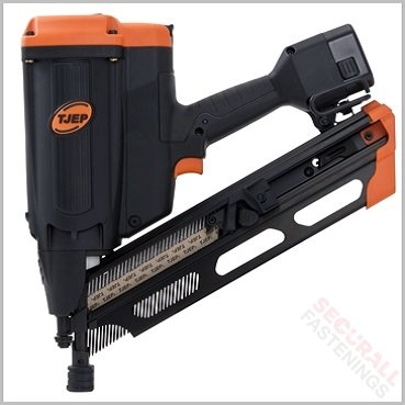 Tjep 90mm Gas 2g Framing Nailer For Roofs Battons