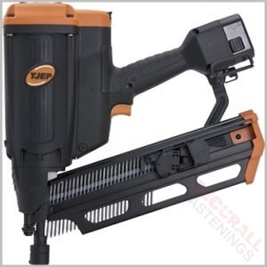 TJEP 21 Degree Plastic Strip Gas Cordless Nail Gun