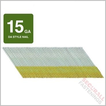 15 Gauge Da Angled 32mm Stainless Steel Finish Nails For