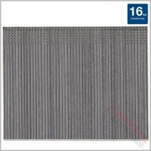 16Gauge 30mm Finish Nails Galvanised silver