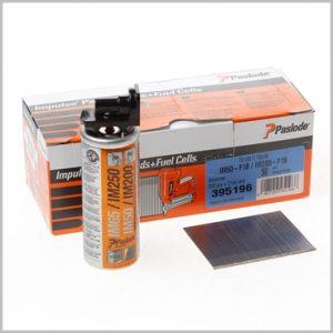 Paslode 18Gauge 38mm Brads Nails Fuel Pack IM50