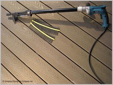 Quikdrive QD76KE Collated Screw Gun Kit