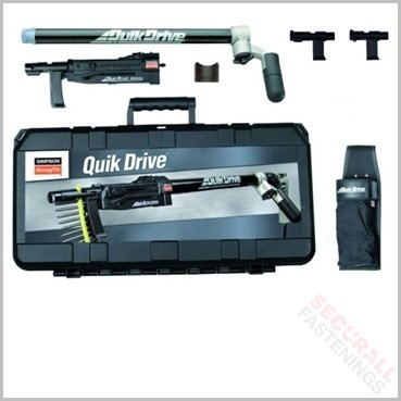 Quikdrive QD76KE Collated Screw Gun kit