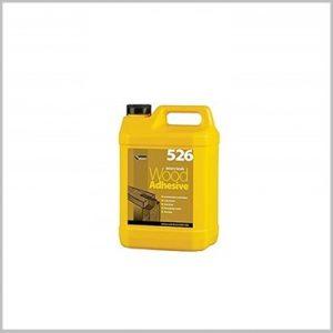 526 Wood Adhesive Glue 5 litre yellow carton