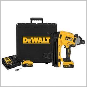 Dewalt DC890 Concrete Steel Nailer 5Ah nail gun yellow
