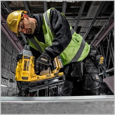 Dewalt Dc890 Concrete Steel Nailer 5ah Cordless Concrete
