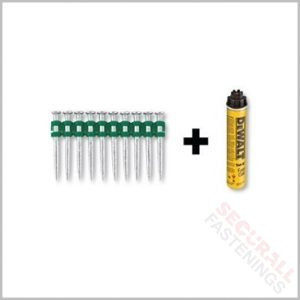 DeWalt DDF6510015 C5 Nails 15mm Pins Gas trak