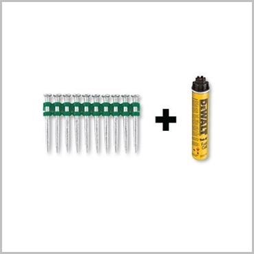 DeWalt DDF6510015 C5 Nails 15mm Pins Gas