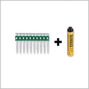 DeWalt DDF6510020 C5 Nails 20mm Pins Gas Trak nailer