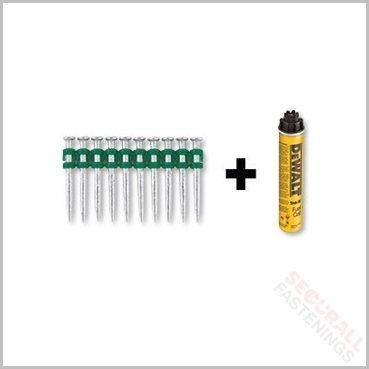 DeWalt DDF6510020 C5 Nails 20mm Pins Gas