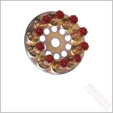 Spit Red Disc Bullets 6.3/10 High Power 011658