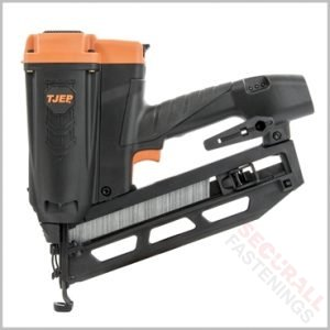 TJEP Cordless Gas 16g Angled Finish Nailer