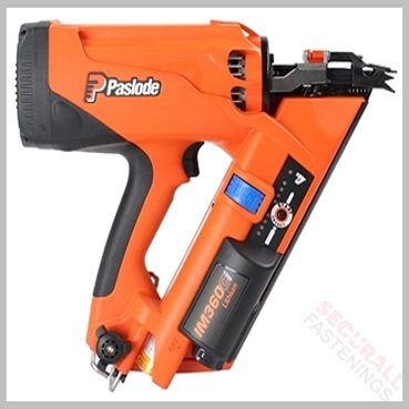 Paslode IM360Ci Nailer New Model orange black
