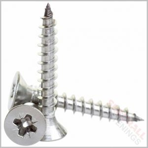 4 x 60mm Stainless Steel Screws