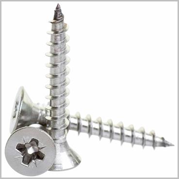 4 x 60mm Stainless Steel Screws