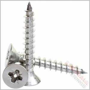 5 x 100mm Stainless Steel Screws