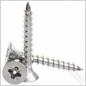 5 x 60mm Stainless Steel Screws