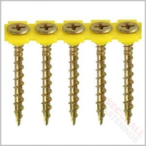 60mm collated wood screws