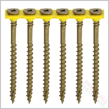 65mm Collated Decking Screws
