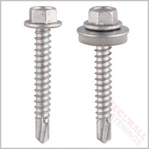 Tek Screws Bi Metal Stainless Steel