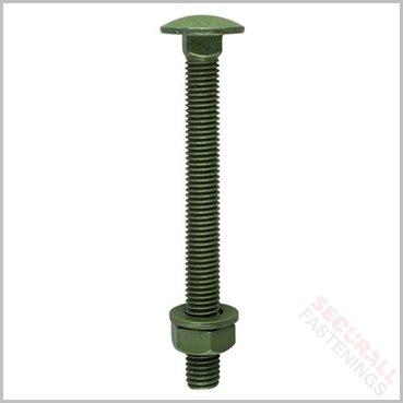Timco M10 x 200mm Index Exterior Carriage Bolts