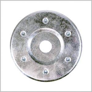Large Metal Insulation Discs 80mm