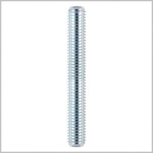 M10 Threaded Bar Rod 1 Meter Zinc