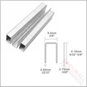 71 10mm stainless steel upholstery staples