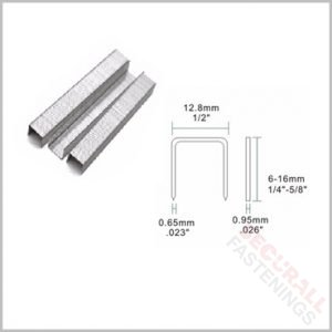 80-12mm Staples Galvanised