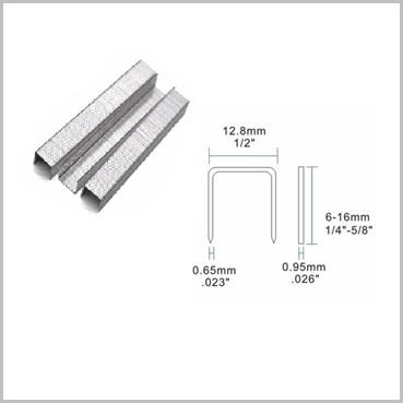 80-4mm Staples Galvanised