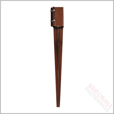 Fence Post Spike 75mm x 600mm