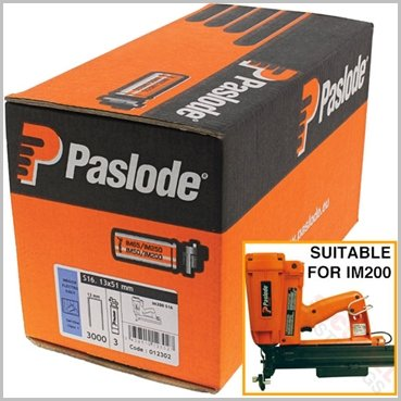 Paslode IM200 S16 19mm Staples Fuel Pack