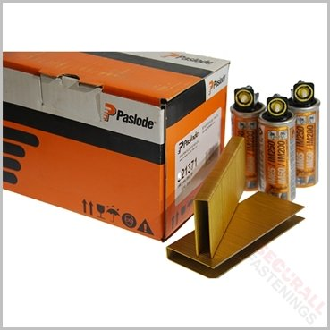Paslode IM200 S16 35mm Staples Fuel Pack