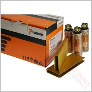 Paslode IM200 S16 51mm Staples Fuel Pack