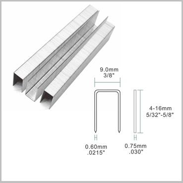 71 10mm Stainless Steel Upholstery Staples