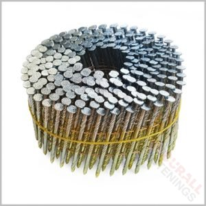 50mm coil nails flat